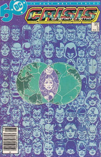 Cover for Crisis on Infinite Earths (DC, 1985 series) #5 [Direct Sales]