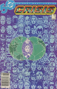 Cover Thumbnail for Crisis on Infinite Earths (DC, 1985 series) #5 [Newsstand]