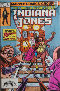 Cover Thumbnail for The Further Adventures of Indiana Jones (Marvel, 1983 series) #4 [Direct]