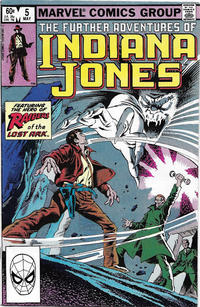 Cover Thumbnail for The Further Adventures of Indiana Jones (Marvel, 1983 series) #5 [Direct]