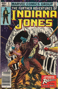 Cover Thumbnail for The Further Adventures of Indiana Jones (Marvel, 1983 series) #8 [Newsstand]