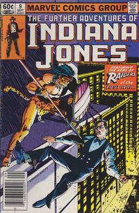 Cover Thumbnail for The Further Adventures of Indiana Jones (Marvel, 1983 series) #9 [Newsstand]