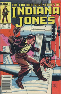 Cover Thumbnail for The Further Adventures of Indiana Jones (Marvel, 1983 series) #10 [Canadian]