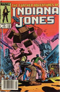 Cover Thumbnail for The Further Adventures of Indiana Jones (Marvel, 1983 series) #15 [Newsstand]