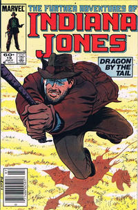 Cover Thumbnail for The Further Adventures of Indiana Jones (Marvel, 1983 series) #19 [Newsstand]