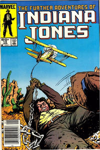 Cover Thumbnail for The Further Adventures of Indiana Jones (Marvel, 1983 series) #13 [Newsstand]