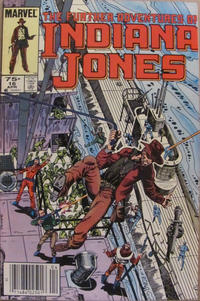 Cover Thumbnail for The Further Adventures of Indiana Jones (Marvel, 1983 series) #16 [Canadian]