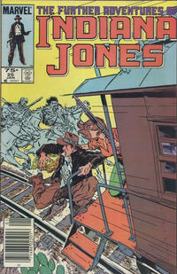 Cover Thumbnail for The Further Adventures of Indiana Jones (Marvel, 1983 series) #25 [Canadian]