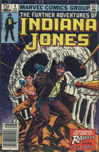 Cover Thumbnail for The Further Adventures of Indiana Jones (Marvel, 1983 series) #8 [Canadian]