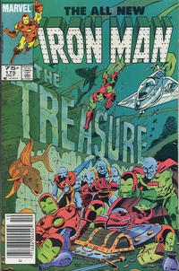 Cover for Iron Man (Marvel, 1968 series) #175 [Direct Edition]