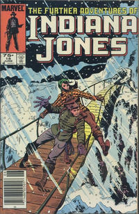 Cover Thumbnail for The Further Adventures of Indiana Jones (Marvel, 1983 series) #18 [Canadian]