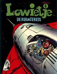 Cover Thumbnail for Lowietje (Oberon, 1976 series) #6 - De ruimtereis