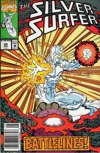 Cover Thumbnail for Silver Surfer (Marvel, 1987 series) #62 [Australian]