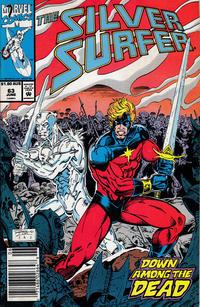 Cover Thumbnail for Silver Surfer (Marvel, 1987 series) #63 [Australian]