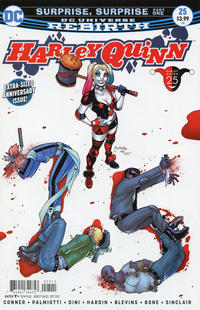 Cover Thumbnail for Harley Quinn (DC, 2016 series) #25