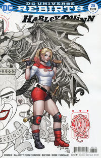 Cover Thumbnail for Harley Quinn (DC, 2016 series) #25 [Frank Cho Cover]