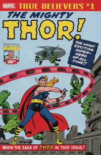 Cover Thumbnail for True Believers: Kirby 100th - Introducing... The Mighty Thor (Marvel, 2017 series)
