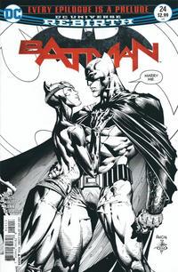 Cover Thumbnail for Batman (DC, 2016 series) #24 [Third Printing]