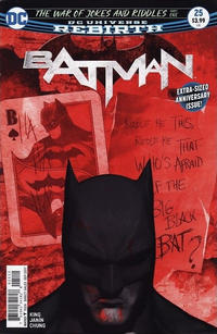 Cover Thumbnail for Batman (DC, 2016 series) #25 [Second Printing]
