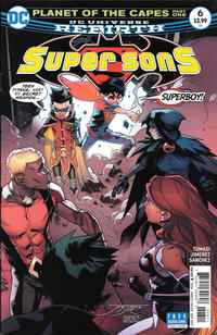 Cover Thumbnail for Super Sons (DC, 2017 series) #6