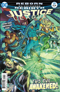 Cover Thumbnail for Justice League (DC, 2016 series) #25