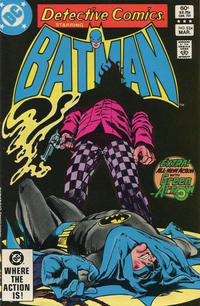 Cover Thumbnail for Detective Comics (DC, 1937 series) #524 [Direct]