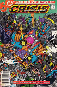 Cover Thumbnail for Crisis on Infinite Earths (DC, 1985 series) #12 [Canadian]