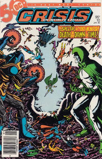 Cover Thumbnail for Crisis on Infinite Earths (DC, 1985 series) #10 [Canadian]