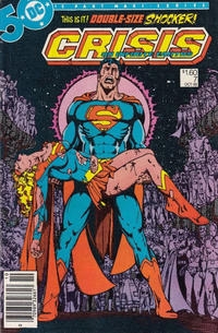 Cover for Crisis on Infinite Earths (DC, 1985 series) #7 [Direct Sales]