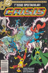 Cover for Crisis on Infinite Earths (DC, 1985 series) #1 [Direct Sales]