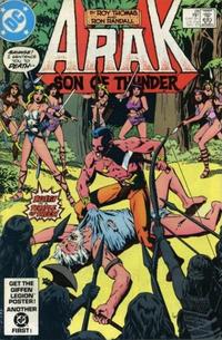 Cover Thumbnail for Arak / Son of Thunder (DC, 1981 series) #28 [Direct]