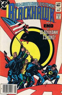 Cover Thumbnail for Blackhawk (DC, 1957 series) #258 [Newsstand]