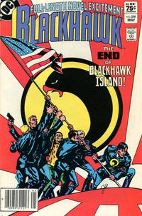 Cover Thumbnail for Blackhawk (DC, 1957 series) #258 [Canadian]