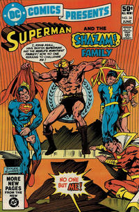 Cover Thumbnail for DC Comics Presents (DC, 1978 series) #34 [Direct Sales]