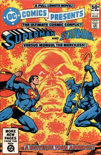 Cover for DC Comics Presents (DC, 1978 series) #36 [Direct Sales]