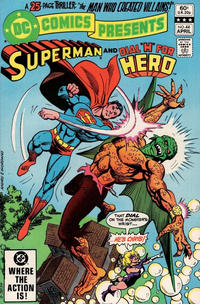 Cover Thumbnail for DC Comics Presents (DC, 1978 series) #44 [Direct]