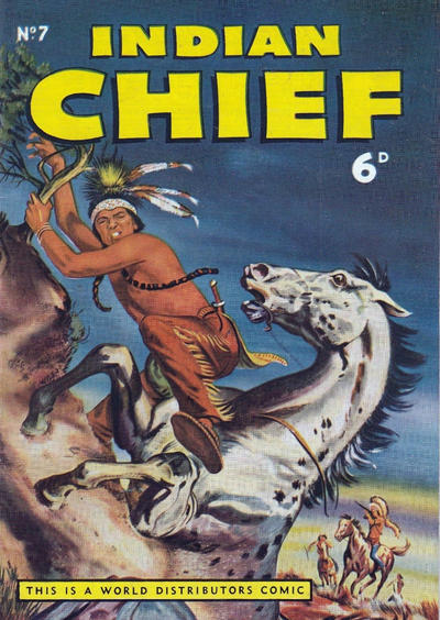 Cover for Indian Chief (World Distributors, 1953 series) #7