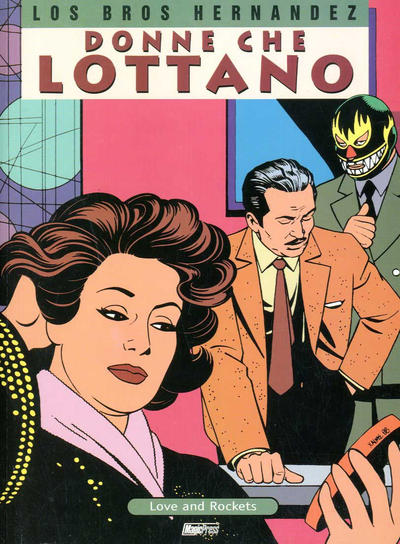 Cover for Love and Rockets (Magic Press, 1998 series) #4