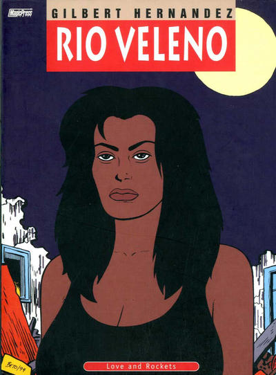 Cover for Love and Rockets (Magic Press, 1998 series) #11