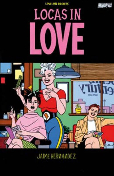 Cover for Love and Rockets (Magic Press, 1998 series) #17