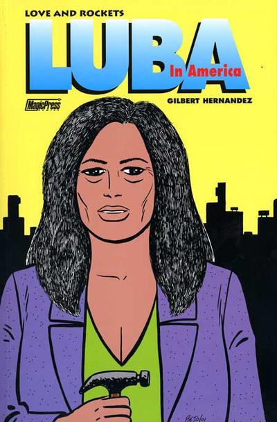Cover for Love and Rockets (Magic Press, 1998 series) #18