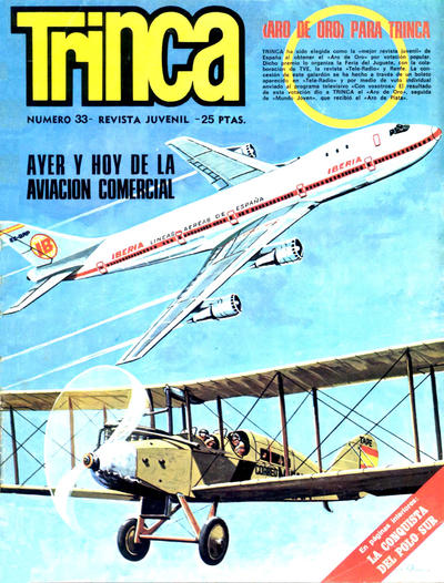Cover for Trinca (Doncel, 1970 series) #33