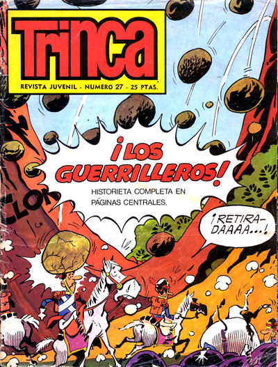 Cover for Trinca (Doncel, 1970 series) #27