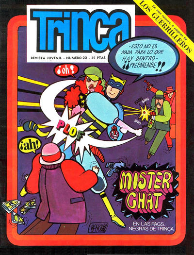 Cover for Trinca (Doncel, 1970 series) #22