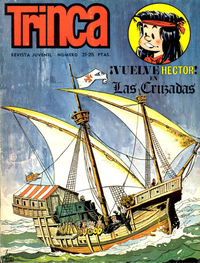 Cover for Trinca (Doncel, 1970 series) #31