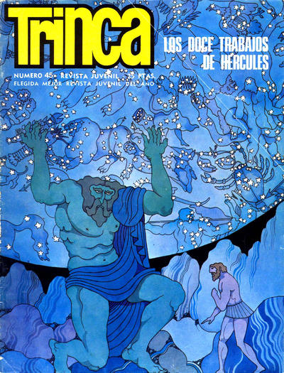 Cover for Trinca (Doncel, 1970 series) #45