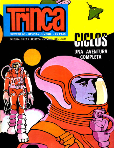 Cover for Trinca (Doncel, 1970 series) #46