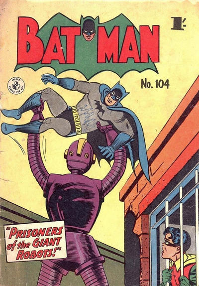 Cover for Batman (K. G. Murray, 1950 series) #104