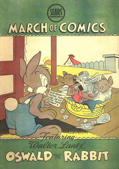 Cover for Boys' and Girls' March of Comics (Western, 1946 series) #38