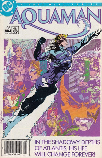Cover for Aquaman (DC, 1986 series) #1 [Direct]